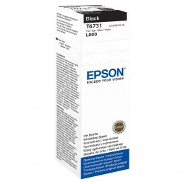 Butelka Tusz Epson T6731 do L800 | 70ml | black