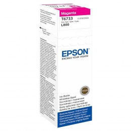 Butelka Tusz Epson T6733 do L800 | 70ml | magenta