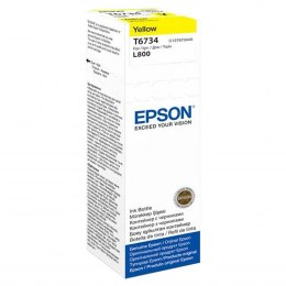 Butelka Tusz Epson T6734 do L800 70ml yellow