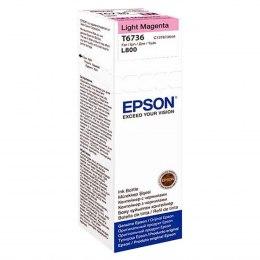 Butelka Tusz Epson T6736 L800 70ml light magenta