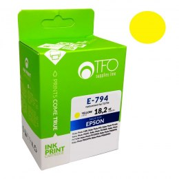 TUSZ TFO DO EPSON E-794 T0794,Ye 18.2ml