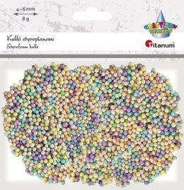 Ozdoba styropianowa Titanum Craft-fun kulki styropianowe Craft-fun (5mm/8g)